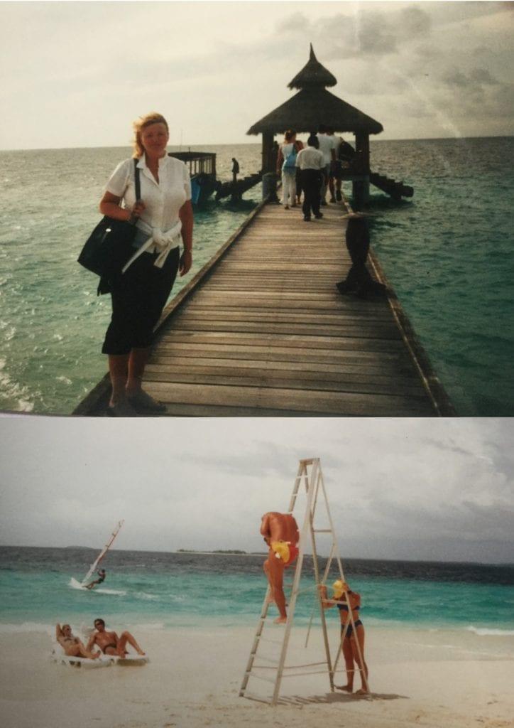 Focení na Maledivách