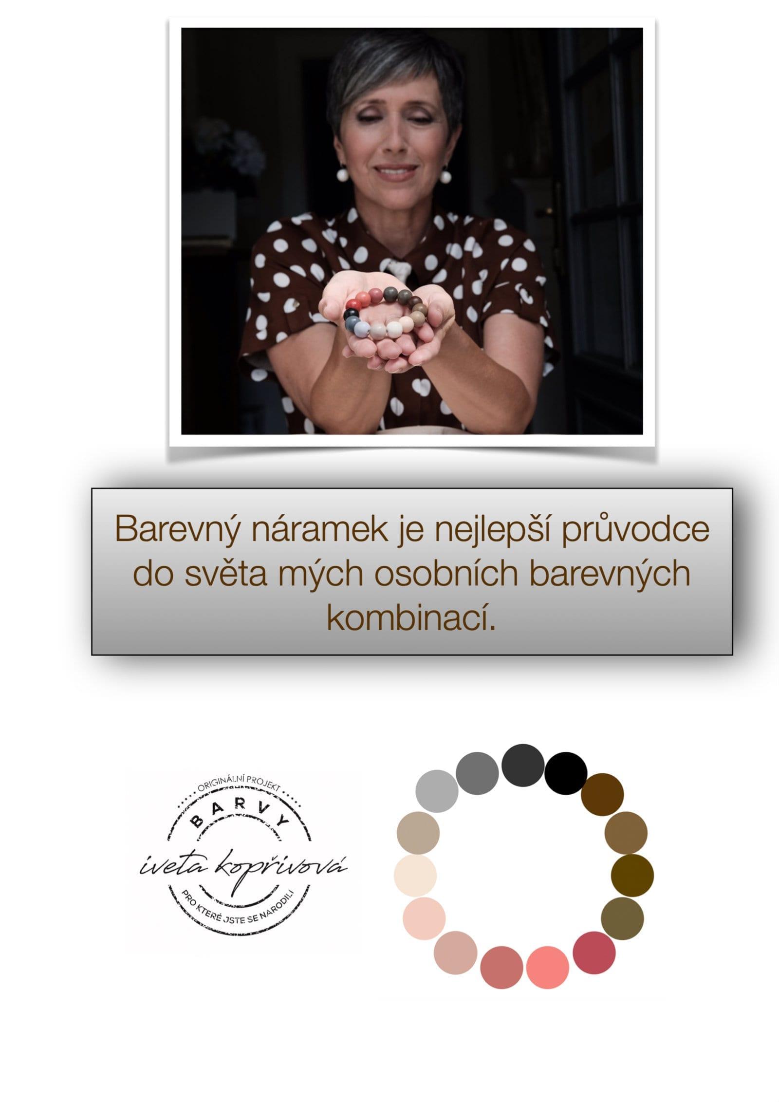 Barevny naramek je nejlepsi pruvodce do sveta barevnych kombinaci