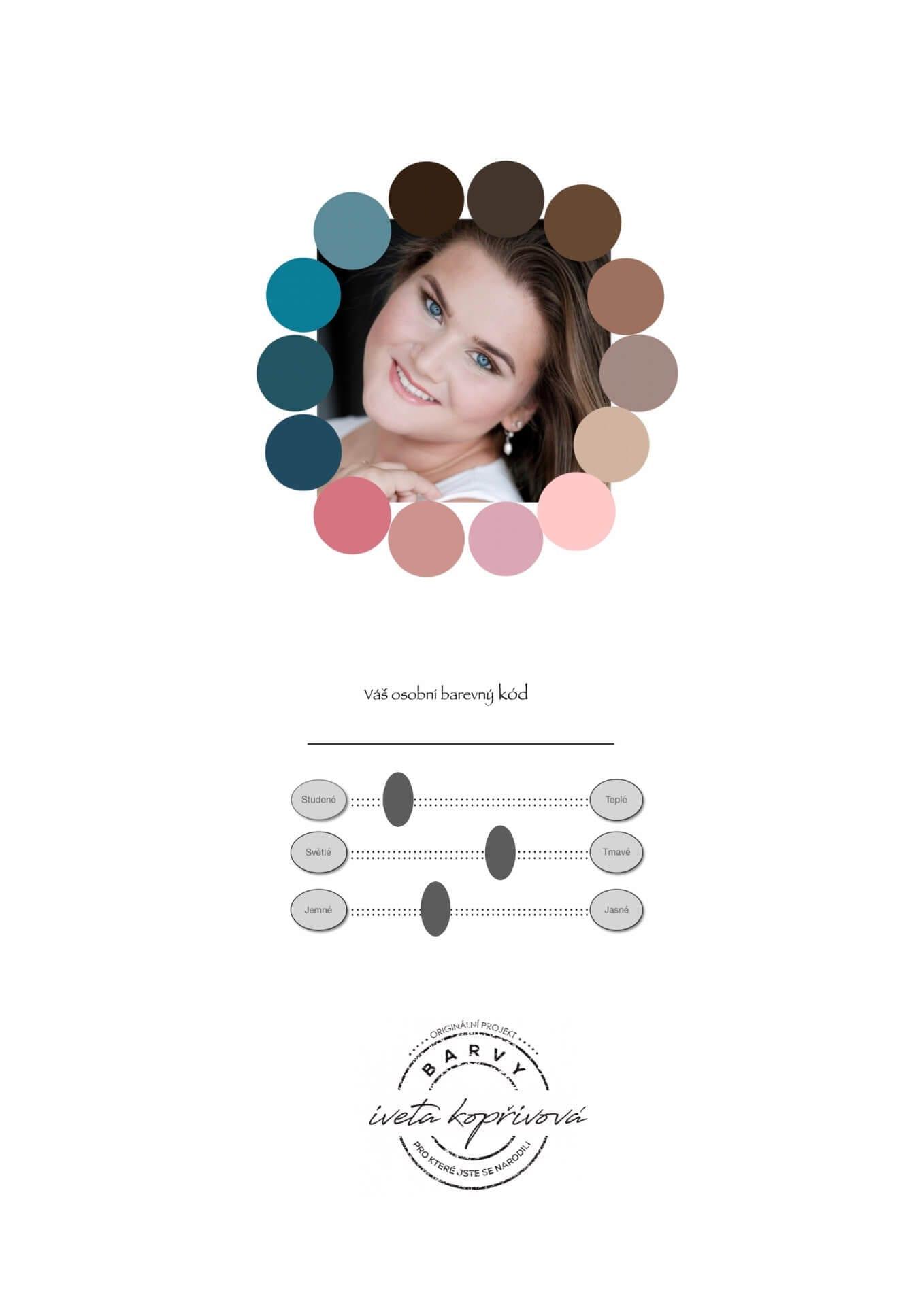 osobni barevny kod