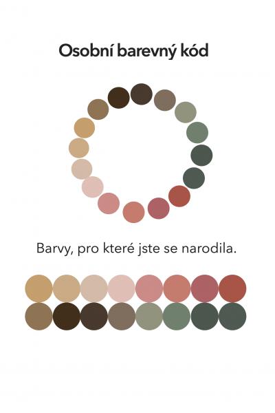 16 osobních barev